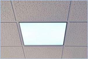 Lights ceiling lights commercial lighting replacement consequently modular light fittings typically come in two sizes 595mm x 595mm and 1195mm x 595mm dependent upon the configuration of your suspended ceiling aloadofball Gallery